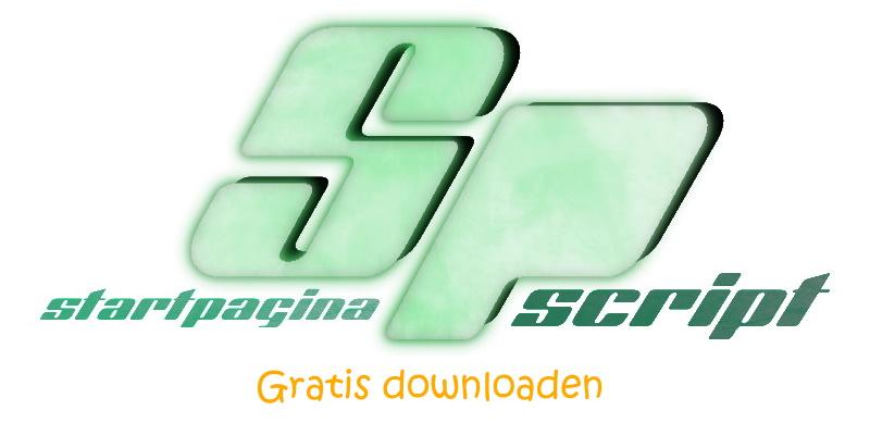 startpagina script gratis downloaden